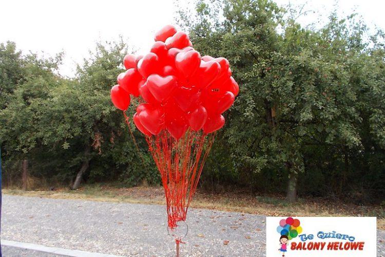 Balony Walentynkowe